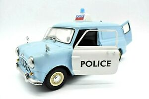 Model Car Morris Mini Police Kyosho Scale 1/18 diecast vehicles road