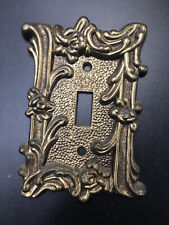 Vintage Bronze Switch Plate Cover Ornate