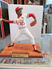 Bob Gibson St. Louis Cardinals Prosports Creation Signed Autograph figurine