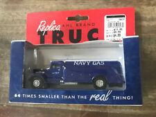 AHL Trucks - Mack Model BM - NAVY GAS - 1:64 Tanker NIP