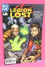 Legion Lost #7 Beings Singular Mind 2000 Comic DC Comics VF