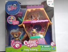 Littlest Pet Shop Cutest Pets Honey Hideaway 2468 Bear 2467 By Hasbro 2011 Rare