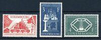 Luxemburg MiNr. 552-54 postfrisch MNH Cept Vorläufer (P2775