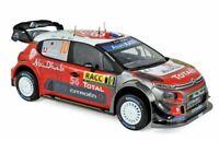 NOREV 181631 181637 CITROEN C3 WRC model rally cars Loeb Elena Breen Martin 1:18