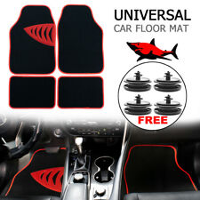 4x For Cat Auto SUV VAN All Weather Clips Universal Floor Mats Carpet Front Rear