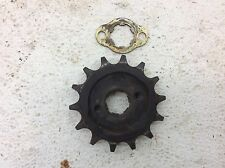 06 LIFAN 250 LF250 ST V-TWIN SAGAPOWER UTILITY ATV USED FRONT SPROCKET A
