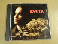 2-CD / EVITA - THE COMPLETE MOTION PICTURE MUSIC SOUNDTRACK