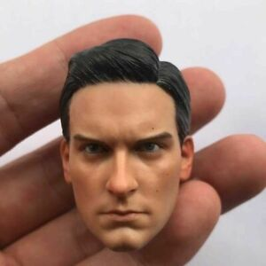 1/6 Spiderman 3 Tobey Maguire Male Head Sculpt Fit 12'' Action Figure Toy