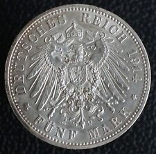 5 Mark 1914 - Germany Prussia KM #536 - Silver Coin - #11001
