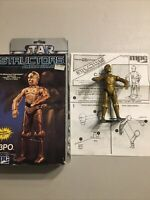 Star Wars C-3PO Structors Walking Action Figure 1985 GUC