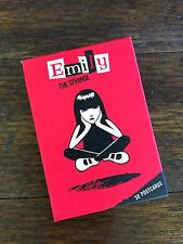 Emily the Strange: 30 Postcards NEW   MINT  Complete!