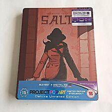 Salt Blu Ray Steelbook [UK] Pop Art Ultra Limited Edition! 500 Print Run! NEW!