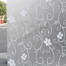 200x60 Bedroom Bathroom Home Glass Window Door Privacy Film Sticker PVC Frosted B