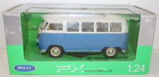 Welly NEX 1/24 Scale 22095W - 1962 Volkswagen VW Classical Bus - Blue