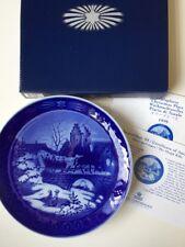 Royal Copenhagen Christmas Plate 1999 The Sleigh Ride