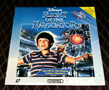 Laserdisc: Disney's FLIGHT OF THE NAVIGATOR (1986) Joey Cramer, Paul Reubens