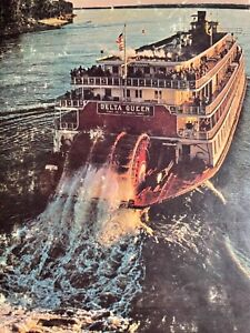 1971 NATIONAL GEOGRAPHIC THE MIGHTY MISSISSIPPI HCDJ BOOK 199pg DELTA QUEEN PICS