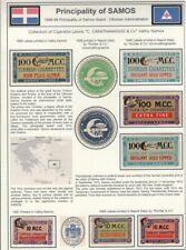 TURKEY, 1886. Cigarette Labels, M.C, Carathanassis, Vathy-Samos