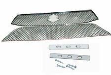 Suzuki Celerio Upper and Lower Front  Radiator Grille Panel Set Chrome Mesh ECs
