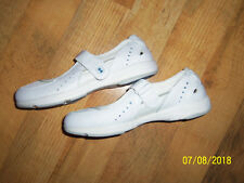 New Ryka White Leather Mesh Upper Elastic Band Shoes 7 1/2W 7.5 Wide