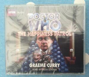 🌟THE HAPPINESS PATROL🌟DOCTOR WHO🌟AUDIO BOOK🌟DR DW🌟UK🇬🇧SELLER🌟