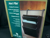 Eldon 16683 Classic Hot File 3 Pocket Hanging File system for partitions& doors
