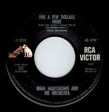 Hugo Montenegro For A Few Dollars More The Gentle Rain 45 Rpm Rca Victor 47-9224