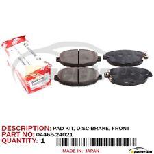 LEXUS 92-00 SC300 SC400 FACTORY FACTORY OEM NEW FRONT BRAKE PADS SET 04465-24021