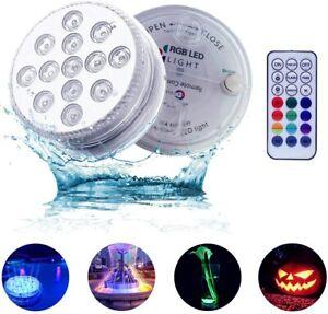 luci piscina led per doccia RGB Impermeabile luce con telecomando RF...