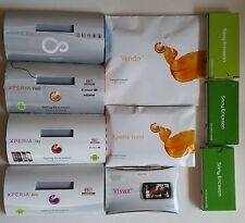 Konvolut Handy Dummy Attrappen 10 Stück  Sony Ericsson Modele - Requisite, Deko
