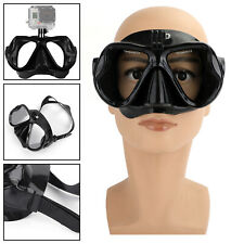 Underwater Diving Mask Scuba Snorkel Goggles Face Glasses Mount for GoPro Hero `