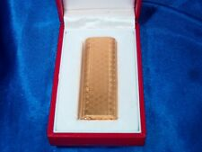 Cartier lighter Gold with Box, Working Beautifull Vintage
