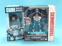 Allspark Tech Shadow Spark Optimus Prime Starter Pack Cube Powers Figure 2016
