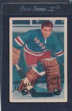 1953/54 Parkhurst #059 Chuck Rayner Rangers VG 53PH59-122015-1
