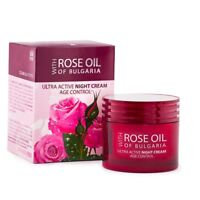 Biofresh Night Cream Active Age Control with Rose Oil All Natural Ingredients