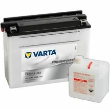 Varta Sealed and Charged Motorcycle Battery Powersports Freshpack YB16AL-A2