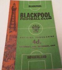Away Teams Sunderland First Division Football Programmes