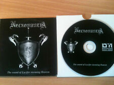 NECROMANTIA~'SOUND OF LUCIFER''~RARE GERMAN PROMO ONLY CD 2008~BLACK METAL-NEW