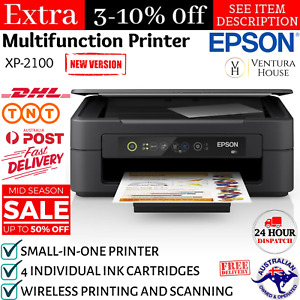 Epson Expression Home XP2100/2105 3-in-1 Inkjet Multifunction Printer WiFi Print