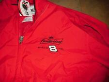 Dale Earnhardt Jr jacket coat Large windbreaker New Mint w tag Chase Budweiser