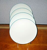 Noritake Colorwave Turquoise 8093 Salad Plate Lot of 4 Coupe EUC More Available!
