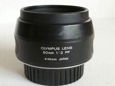 OLYMPUS OM 50mm f2 AUTO Lens