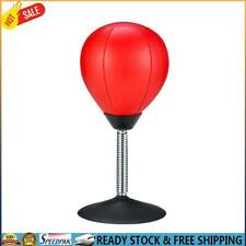 Desktop Punching Bag Stress Buster Suction Cup Stress Relief Ball with Pump H1