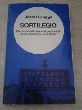 Jozsef Lengyel - SORTILEGIO - 1965 - 1° Ed. Ferro Edizioni