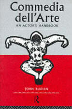 Commedia Dell'Arte: An Actor's Handbook by Rudlin, John (University of Exeter, U