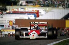 Alain Prost McLaren MP4/3 austríaco Grand Prix 1987 fotografía