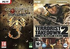 Scorpion défiguré & terroriste takedown 2 US NAVY SEALS New & Sealed