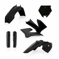 Acerbis Full Plastics Kit Black KTM SX85 2006 - 2012 SX 85