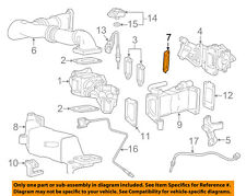 Gm Oem Emission-Egr Pipe Gasket 98065523