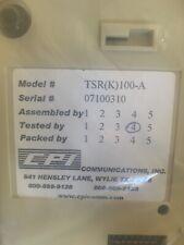 Cpi Tsr (K) 100A Alpha Remote Series Mu 00006000 Lti-Channel Remotes